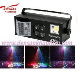 Đèn led tích hợp laser 4 trong 1