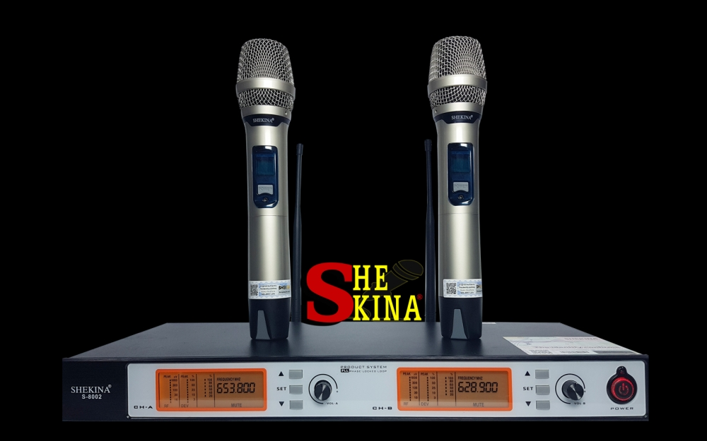 Micro không dây Shekina S-8002