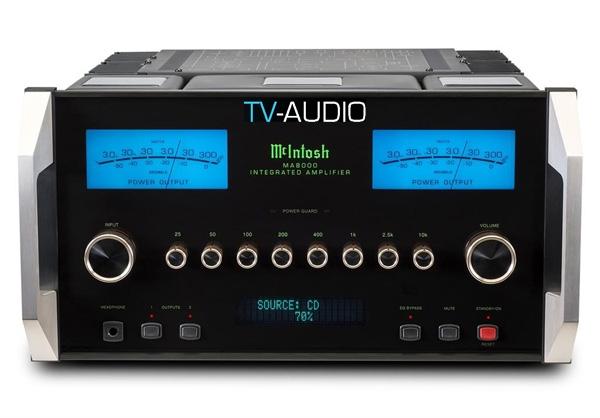 Amplifier tích hợp MA8000 mới của Mclntosh.