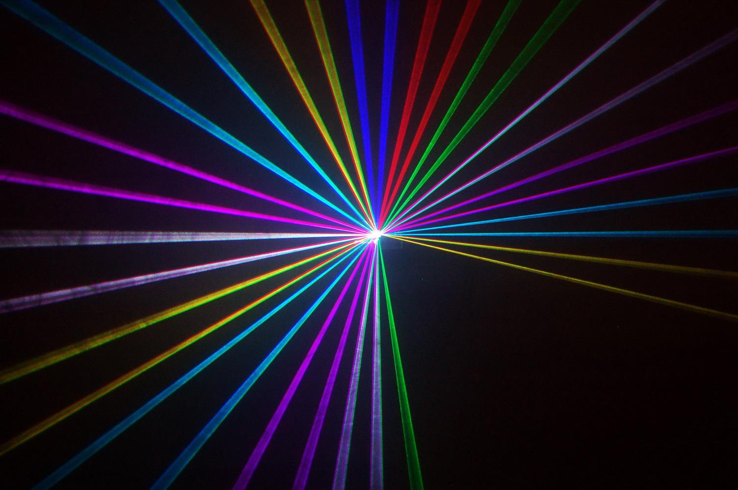HIệu ứng đèn laser 1 cửa 7 mầu