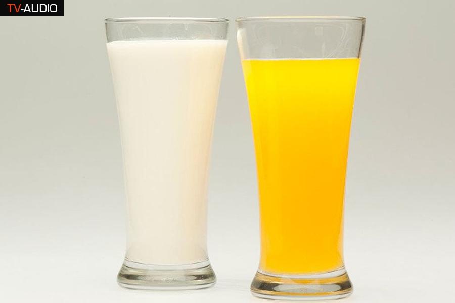 Uống sữa hay cam vào buổi sáng