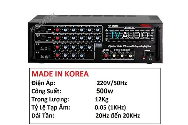 Jarguar Suhyoung PA 203E