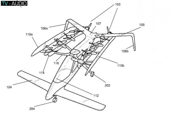 Cùng xem bản vẽ của chiếc máy bay có thể gấp gọn nào